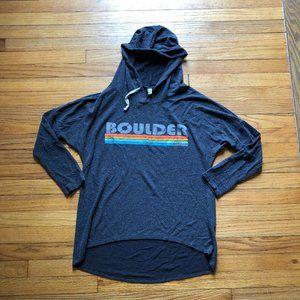 Techstyles Sportswear Boulder CO Fuzzy Hoodie